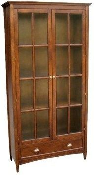 Bookcase With Glass Door