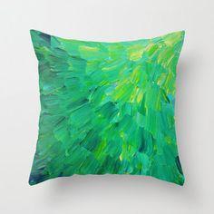 DECORATIVE THROW CUSHION 18 x 18 Pillow Cover Sea by EbiEmporium, $30.00