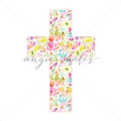 Cute Easter Cross
