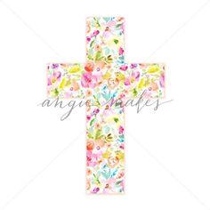 Cute Easter Cross