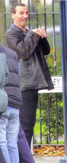 Eccleston, thou art a very special man :)
