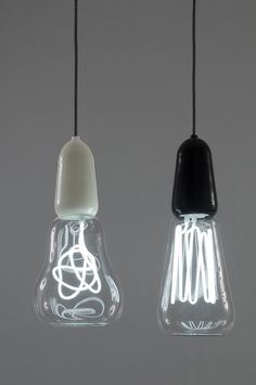 New filament lights from New Zealanders Scott Fitzsimons and Richard Hartle of Scott, Rich & Victoria