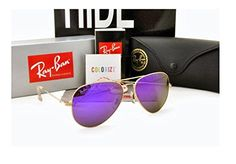 Ray Ban 3025 Aviator Gold Frame / Purple Mirror Lenses Review https://eyehealthtips.net/ray-ban-3025-aviator-gold-frame-purple-mirror-lenses-review/