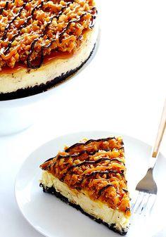 Samoa-Cheesecake