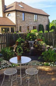 Small water fall and pond | Outdoor Areas