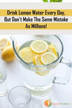 A glass of lemon water in the morning is starting to become a habit for many people. Lemon water is an extremely beneficial drink, but not everyone can take the bitter-sour taste of lemons, especially first thing in the morning.