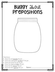 Teach123 - tips for teaching elementary school: Busy P's: Prepositions