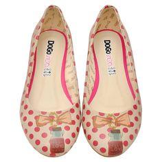 DOGO Ballerina - Love in the bottle #dogogermany #dogoshoes #dogo #printedshoes