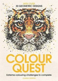 Colour Quest - Extreme Colouring Challenges To Complete Review - extreme color by numbers #coloringbook for grown ups #adultcoloring #colorquest - see the review with images to see if this book is for you #colorbynumbers - click to see the full #coloringbookreview