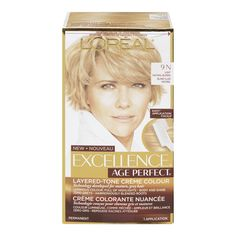 L'Oreal Paris ExcellenceAge Perfect Layered Tone Flattering Color, 9N Light Natural Blonde *** Check this awesome product by going to the link at the image.