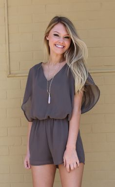 the PERFECT romper for date night! 15% off with code RIFFRAFFREPCASSIE + free shipping!