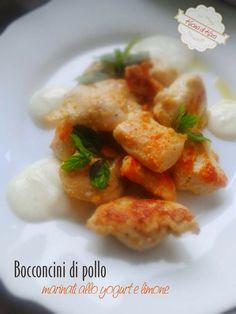 Kucina di Kiara: Bocconcini di pollo marinati allo yogurt e limone