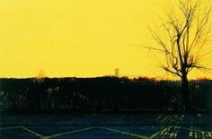 George Shaw (1966-….), Ash Wednesday, 8:30 a.m., 2004/5, Humbrol enamel on board