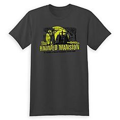 The Haunted Mansion Tee for Adults - Magic Kingdom 45th Anniversary - Limited Release | Disney Store