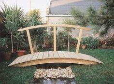 Ponte em Arco | Toscca WebStore - Casas de Madeira e Equipamentos Jardim