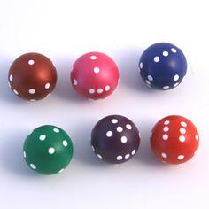 Spherical dice