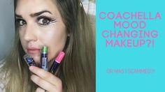 Coachella makeup/mood changing makeup?! Click to see review!