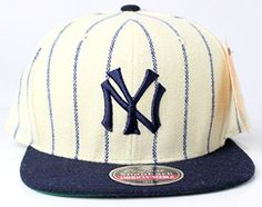 Officially licensed MLB Product Cooperstown Collection since 1918  - 400 Series Lofted front embroidered logo, flat brim