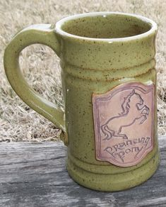 Special Order Lord of the Rings Hobbit Prancing by FunctionalMud, $35.00