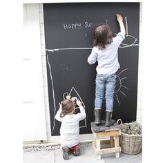 Krijtbord tuin- kids