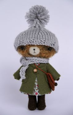 I am not as prepared as winter bear for this cold cold snow...
