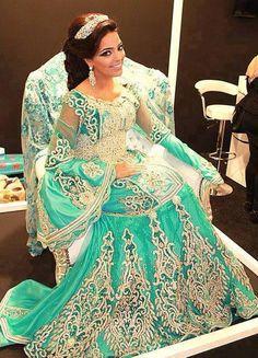 caftan moderne 2014 de mariée - Caftan Marocain Haute Couture ...
