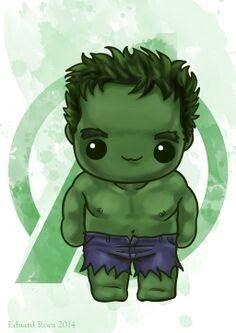 Cute Hulk