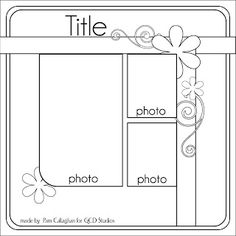 Ideas for Scrapbookers: Tuesday Sketch