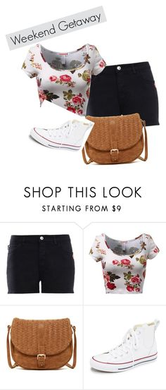 """""""Weekend Getaway"""" by zoeholmquist on Polyvore featuring Love Moschino, Deux Lux, Converse, women's clothing, women, female, woman, misses and juniors"""
