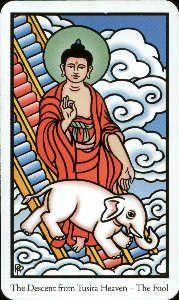 The Buddha Tarot the Fool