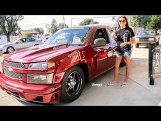 FASTEST WOMAN IN OKLAHOMA! STREET OUTLAWS! TINA PIERCE DEBUTS HER LSX COLORADO! HOT ROD DRAG WEEK! - YouTube