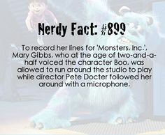How Monsters Inc. was made…