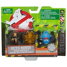 Ghostbusters Ecto Minis Action Figure  3 Pack (Colors/Styles May Vary)