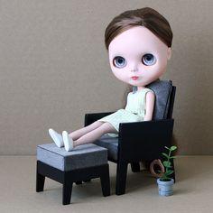 MINIMAGINE * furniture for dolls #blythe #blythedoll