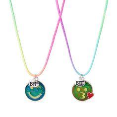 Girls Emoji Mood Bff Necklace Set - Multi - The Children's Place