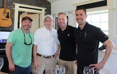 John Rivenburgh, Dr. Bob Young, Ian Eastveld, Ryan Levy - Bending Branch Winery & Nice Winery