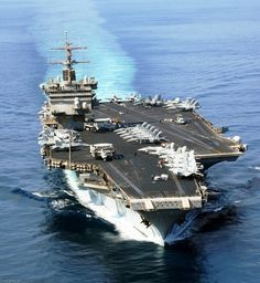 """...""""Big E"""" USS Enterprise. Pretty sure this is the ship my dad served on when he was in the navy."""