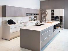 nolte kchen mit kochinsel und theke, 10 besten nolte küche grifflos bilder auf pinterest | kitchens, Design ideen