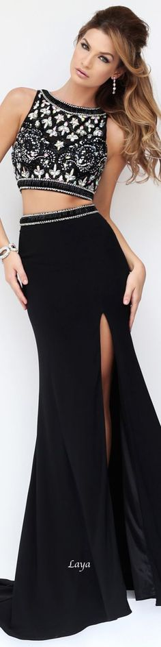 crop top &skirt formal #UNIQUE_WOMENS_FASHION