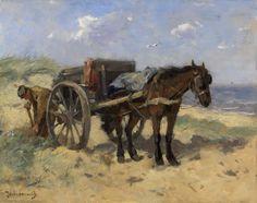 Johan Frederik Cornelis Scherrewitz ( 1868 - 1951) ,Carting Sand