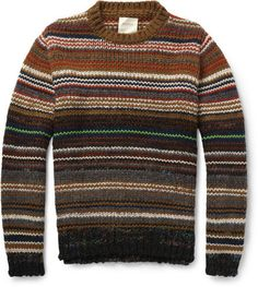 Stay warm and stylish with the selection of sweaters, cardigans and other men's knitwear from over 100 luxury fashion designers from MR PORTER. Clothes For Big Men, Urban Fashion, Mens Fashion, Billy Reid, Mr Style, Men's Wardrobe, Sweater Design, Well Dressed Men, Knitwear