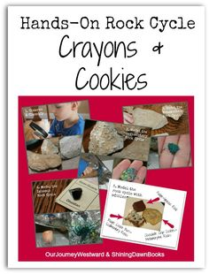 Learn about the rock cycle with hands-on activities that kids love.  Bring nature study indoors!
