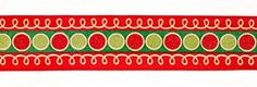 """Gold, Red and Green Holiday Balls Wired Craft Christmas Ribbon 2.5"""" X 60 Yards -- See this great product."""