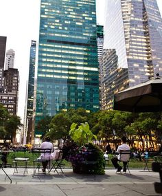 Watch a movie in Bryant Park. #NYC #NewYork #travel