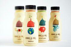 Juice drink Menos es Mas ('less is more')