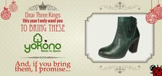 Tell us your #Christmas wishes and get a wonderful #Yokono's gift!