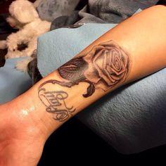 #ripvaginatattoo Demis new tattoo March 2015