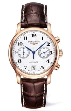 Longines Master Automatic Chronograph 38.5mm Mens watch, model number - L2.669.8.78.3, discount price of £3,975.00 from The Watch Source