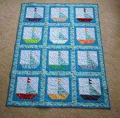 I want one of my friends to have a son then do a boat/sea themed nursery so I have a reason to make this!