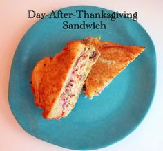 Day-After-Thanksgiving-Sandwich Homemade Coleslaw